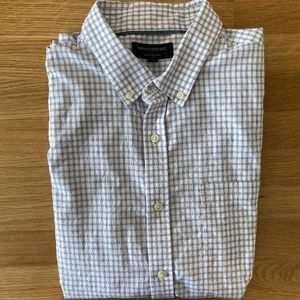 Banana Republic Slim Fit, Untucked Oxford Shirt